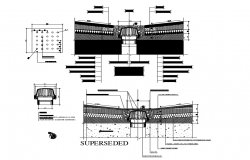 Water Proofing section details