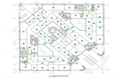 Water Supply In Commercial Building AutoCAD File