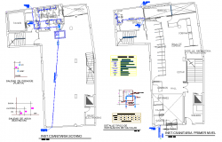 Water pipe line house plan autocad file