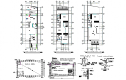 Water pipe line house plan layout file