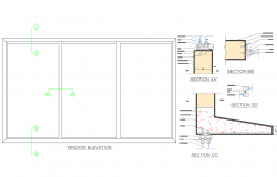 Window detail dwg files