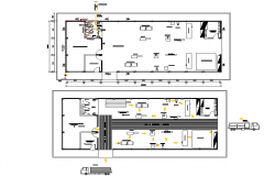 Wood factory plan detail dwg file