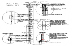 Wood opening architecture details of house door dwg file