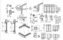 Wooden Structure CAD Blocks