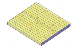 Wooden flooring file in 3d