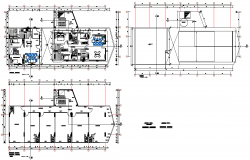 Working Expansion of commercial building layout file