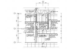 Working House Section Plan