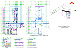 Working home plan layout file