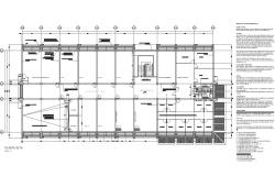 Working plan building detail dwg file