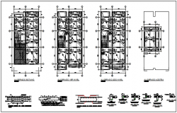 Working plan detail and elevation plan detail dwg file