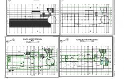 Working plan layout plan detail dwg file