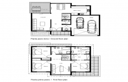 Working plan of house building detail layout autocad file