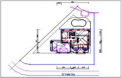 Working plan view details dwg file,