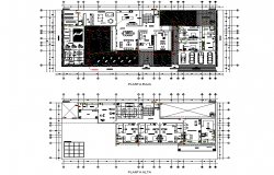 Working residential house layout file