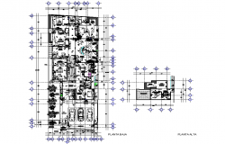 Working residential house plan detail dwg file