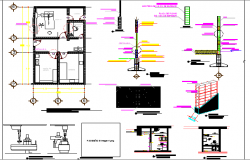 X-Ray Room of General Hospital Project dwg file