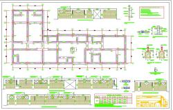 Foundations Plan Of Medical Health Centre