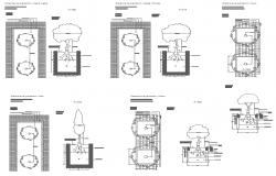 Tree Block plan And Elevation