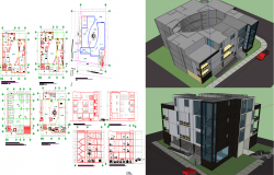 Commercial building detail