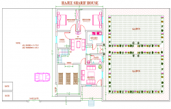2 BHK house Lay-out