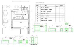 Clinic Kitchen - furniture Detail