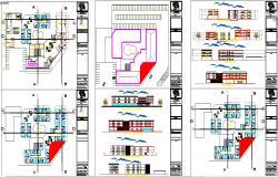 Modern master plan for Hotel