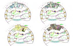 Ladies Spa Interior design and detail in autocad dwg files