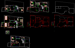 Villas layout plan