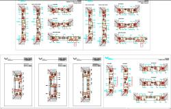 aluminium window detail cad dwg files