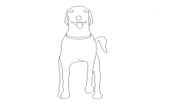 animal dwg file