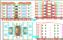 apartment dwg file