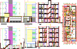 apartment layout plan dwg fi le