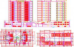 apartment layout plan dwg file