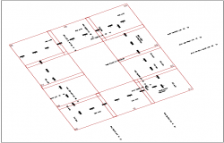 apartment society plan area  dwg file