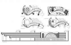 art faculty campus building detail drawings.