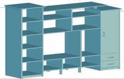 3D Cup Board Block