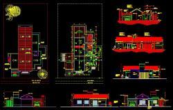 Modern villa plan dwg, villa plan dwg free download, Villa dwg