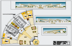 Town planing design drawing