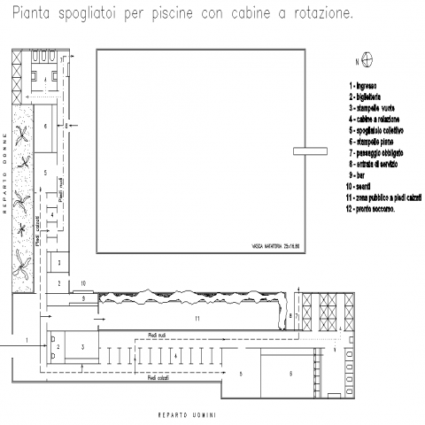 Bar plan detail dwg file.