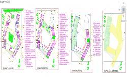 3 Floor Hospital plan