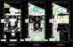 Bungalow Layout plan