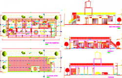 beach house dwg file