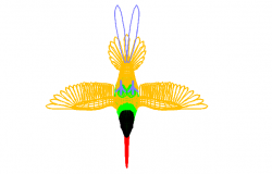 Bird dwg file, autocad bird drawing download