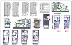 Multi Family House plan