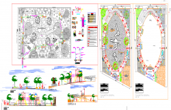 Children Park Design Lay-out