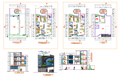 Apartment Residetial House Plan