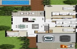 House interior design plan