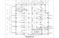 cad roof plan