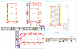 Church Plan DWG file