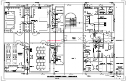 Third floor plan Environmental engineering laboratories design